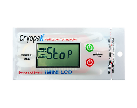 Datalogger iMINI LCD - Indicador de Temperatura