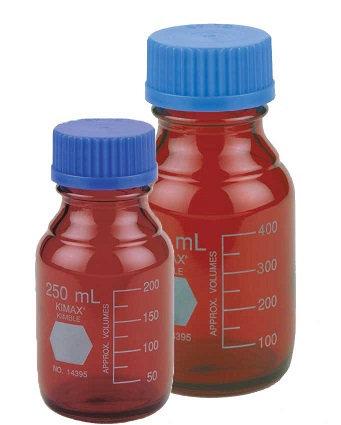 Botella GL-45, RAY-SORB (AMBAR)