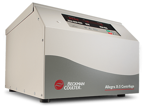 Allegra X-5 Beckman Coulter IVD 120V 60 Hz