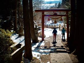2月のモニターさん in 石割神社~山中湖