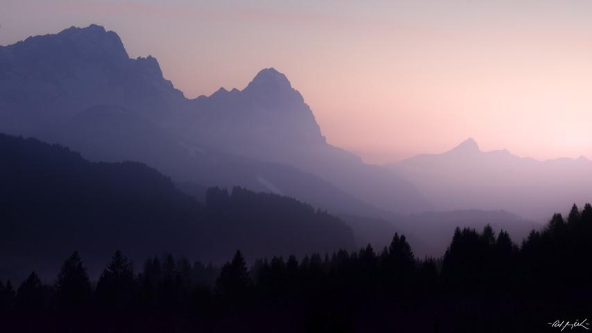 Karwendel Sunset