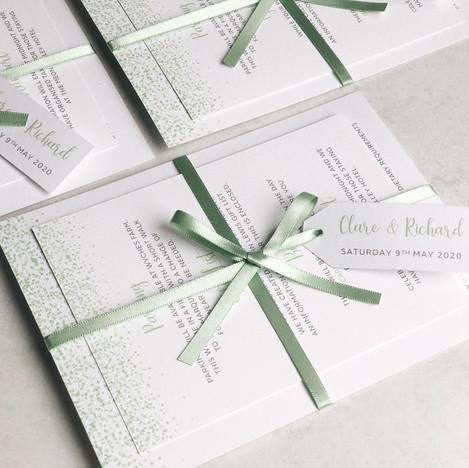 Glam & Glitter - Sage Green