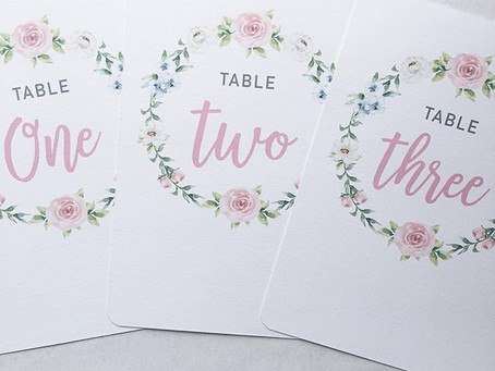 Blush pink On the Day Stationery