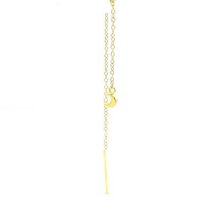 Single Gold Moon Threader