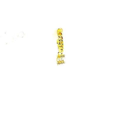 Single Chain Crystal Drop Hoop