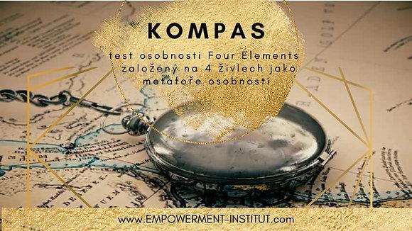 KOMPAS - osobnostní test s e-bookem