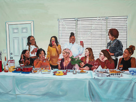 NYC: Last Supper Exhibition by LatchKey Gallery and Tamecca Serill