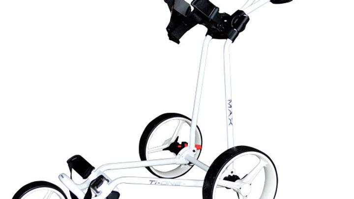 Big Max TiOne  3-Wheel Trolley
