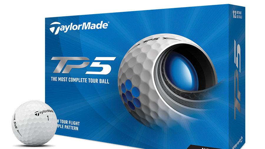 Taylor made TP5 / TP5X Dozen Golf Balls