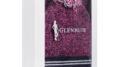 Glenmuir Ladies Golf Bobble Hat and Neck Warmer Gift Box