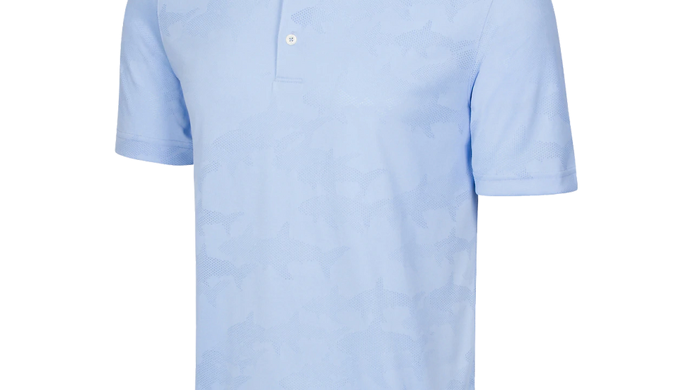 Greg Norman SHARK TEXTURED JACQUARD POLO