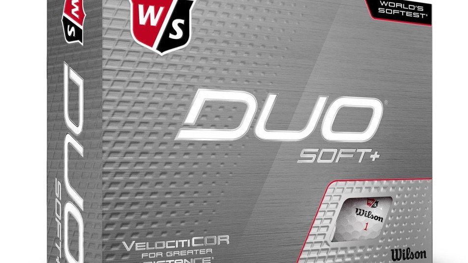 Wilson Duo Soft + Dozen Golf Balls
