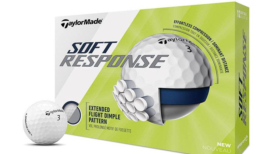 TaylorMade Soft Response Dozen Golf Balls