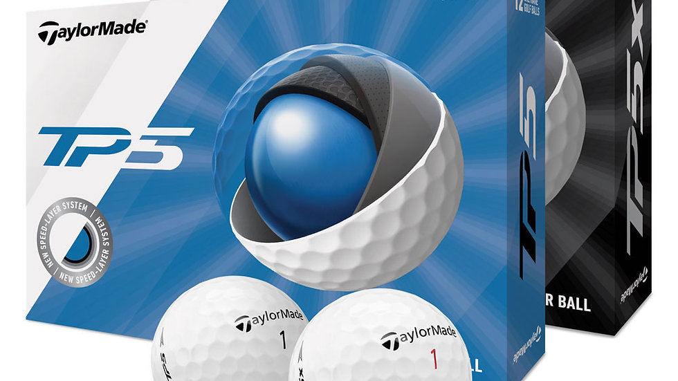 Taylor made TP5 / TP5X Dozen Golf Balls