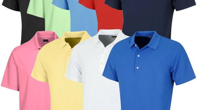 Greg Norman KX04 Ballina Golf Club Crested Shirt