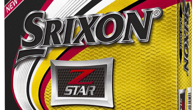 Srixon Z-Star Golf Balls Dozen