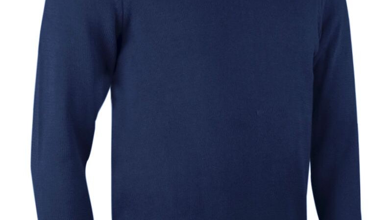 Glenmuir Ballina Golf Club DEVON Mens Zip Neck Lightweight Cotton Golf Sweater