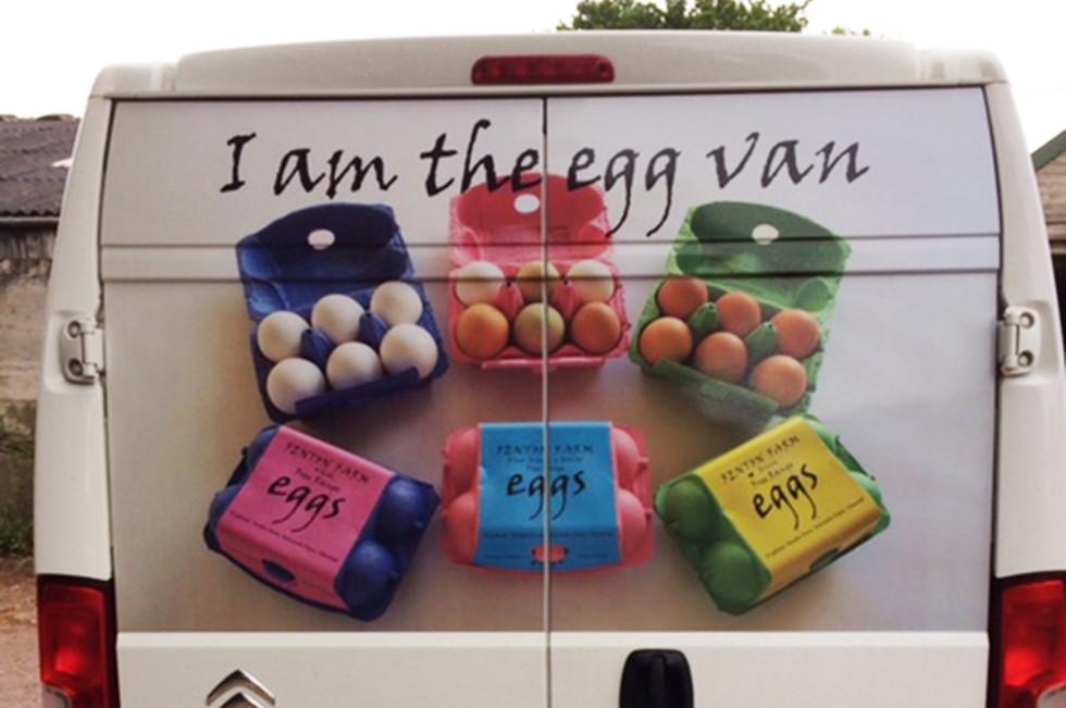 I am the Egg Van