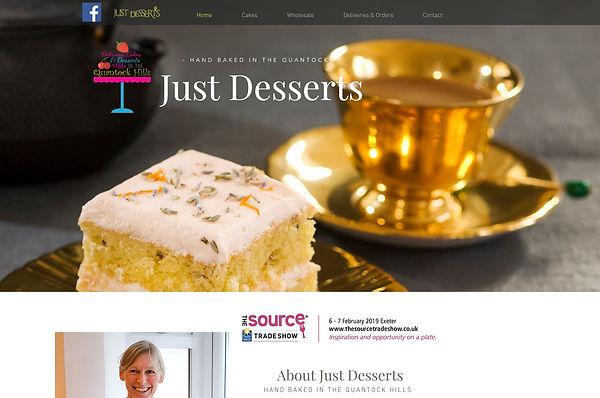 Capture Just Desserts Website.JPG