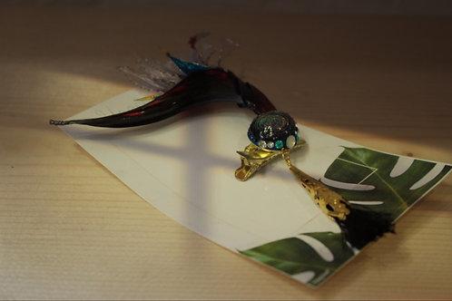 極楽鳥花 ブローチピン