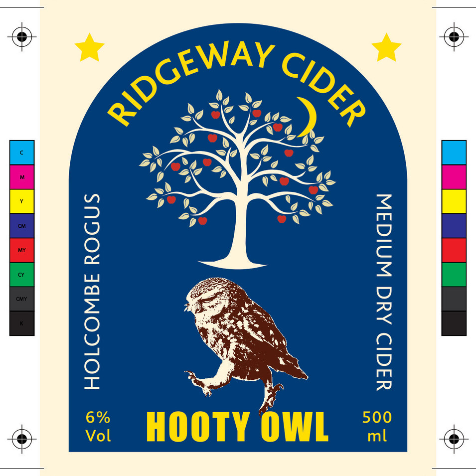 Hooty Owl Label - Front