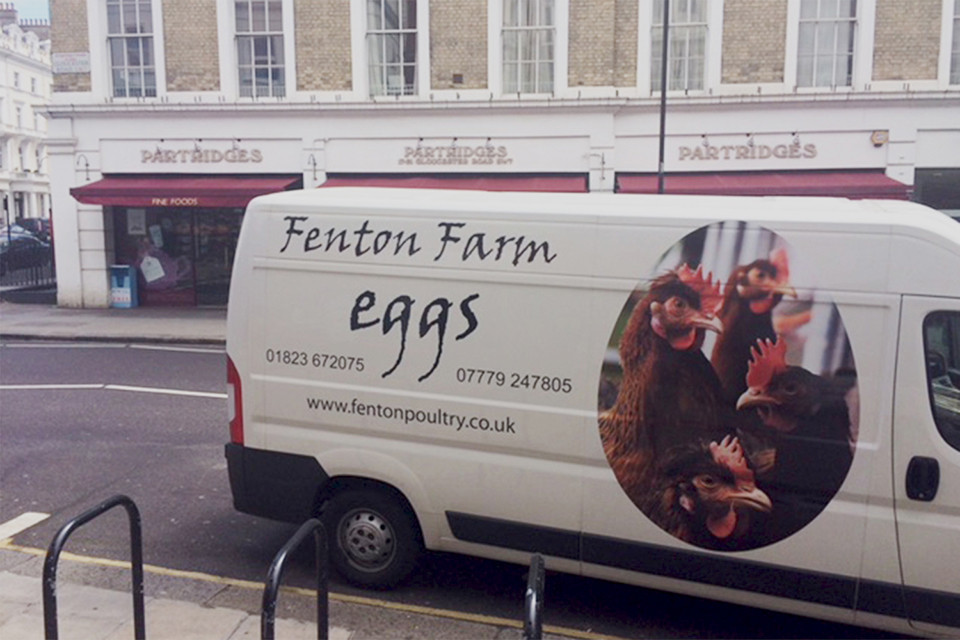 Delivery to Partridges