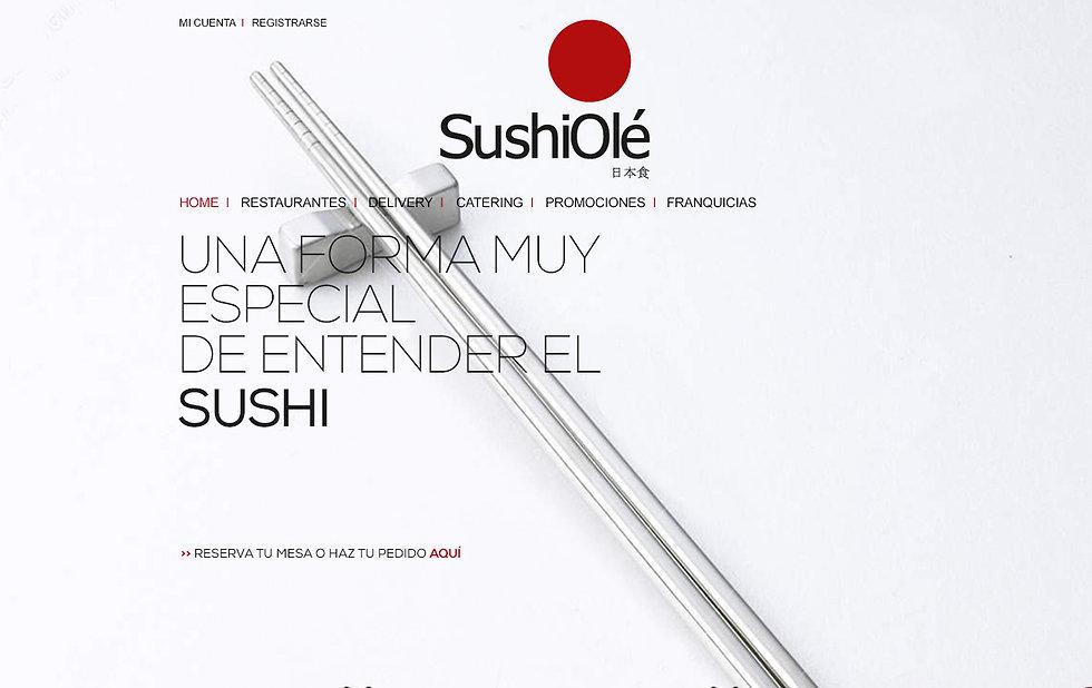 emblematico Diseño Grafico Freelance de web de restaurante