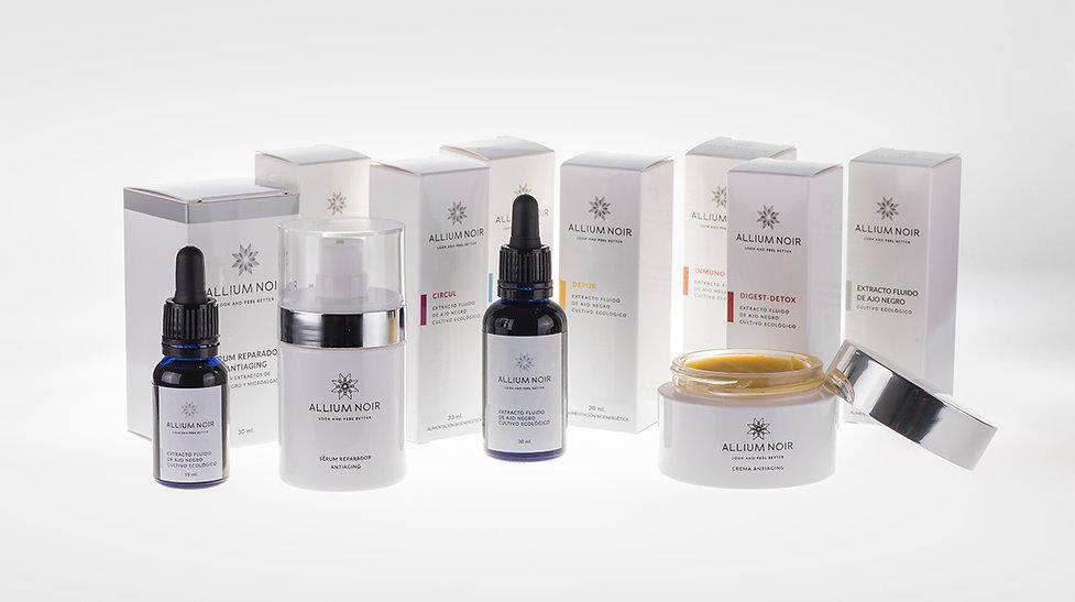 Diseño Gráfico Freelance de packaging complementos alimenticios y cosmetica natural