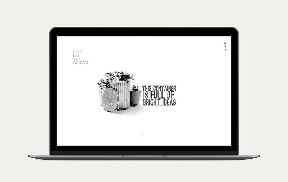 efectivo Diseño Gráfico Freelance de promocion personal web portfolio