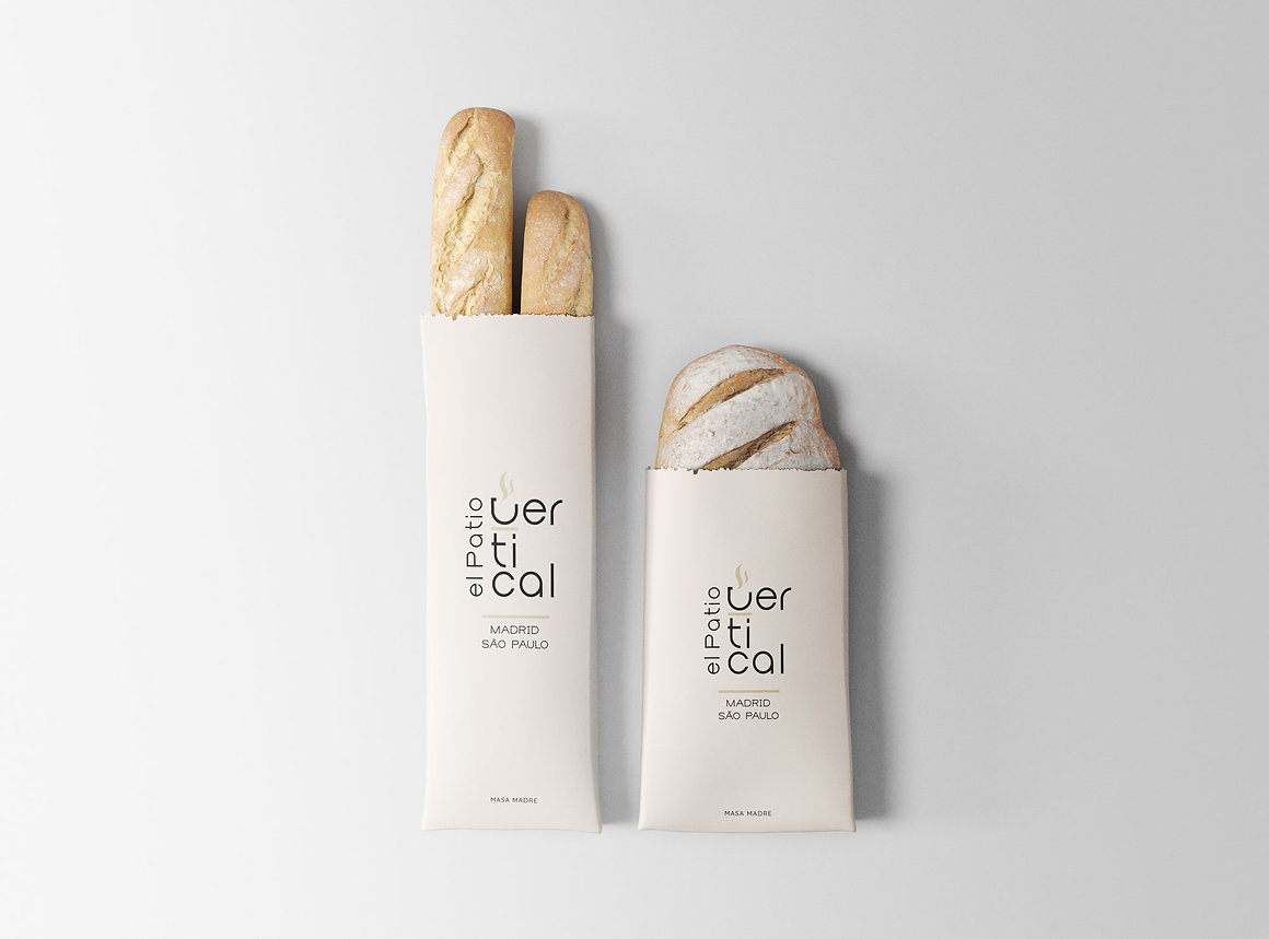 Packaging Diseño freelance bolsa pan take away