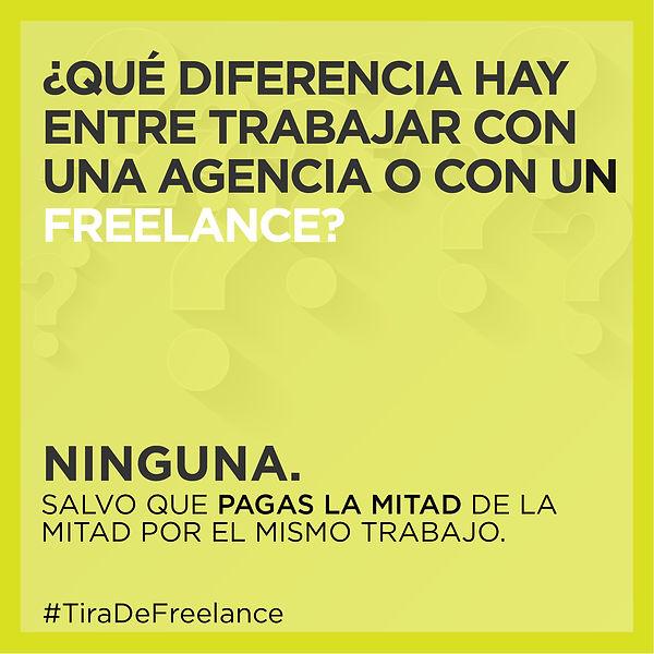 Diseño post redes sociales creatividad freelance