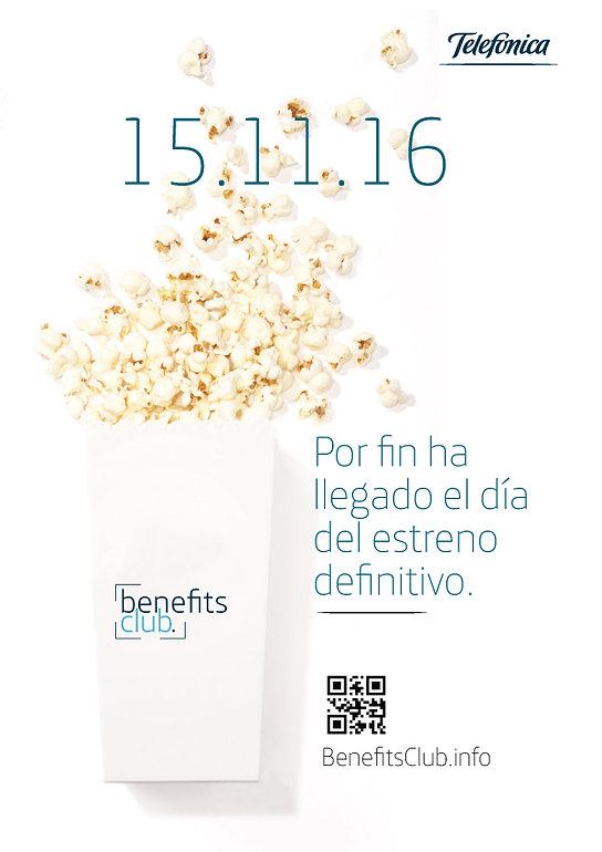 Freelance Creativo Madrid Diseño gráfico carteles campaña para Telefónica