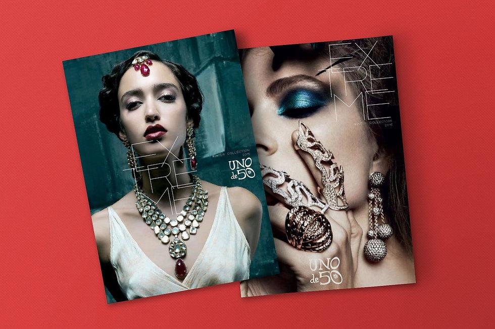 Diseno grafico freelance de magazine para retail