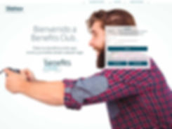 Diseno home web club telefonica Freelance Creativo Madrid