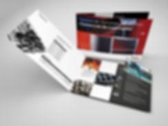 Util Diseño grafico freelance para Folleto promocional de laminados