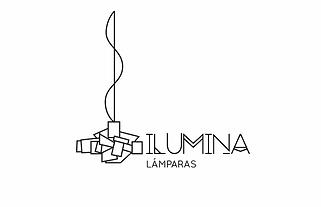 Diseño Grafico monocolor Freelance de Logotipo para lamparas