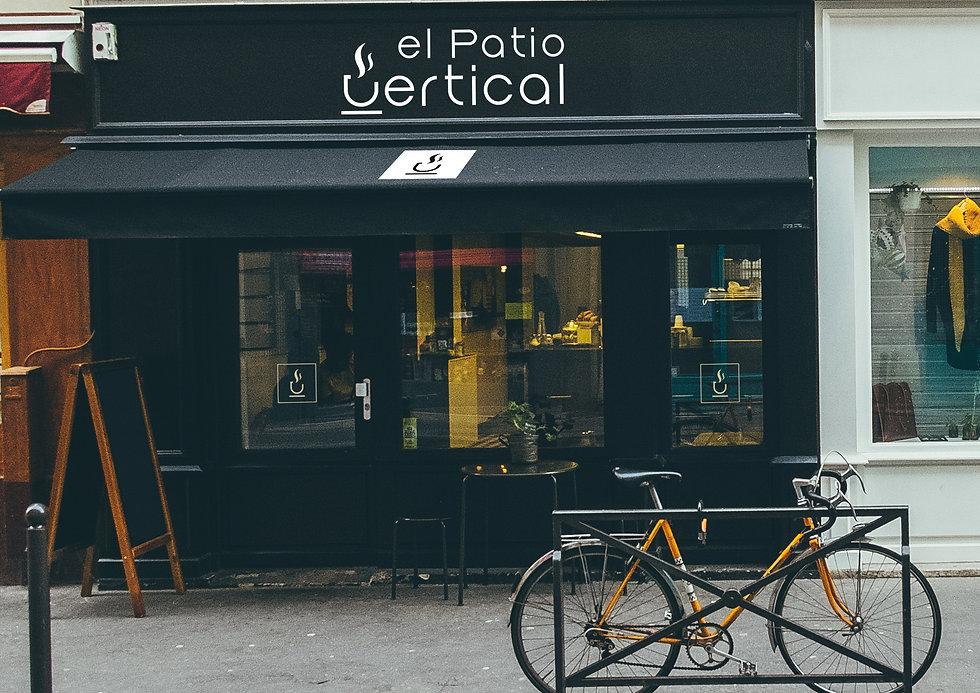 Aplicacion al restaurante del Diseño Grafico y Logotipo