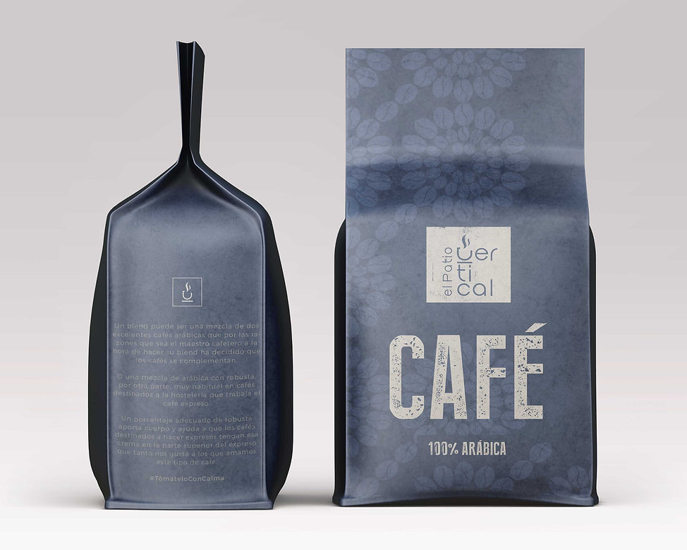 Original diseño grafico freelance de packagind de cafe