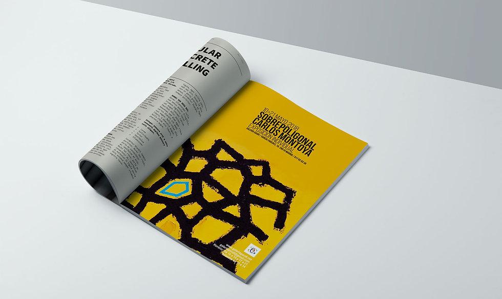 destacado diseño grafico freelance de pagina prensa de evento cultural