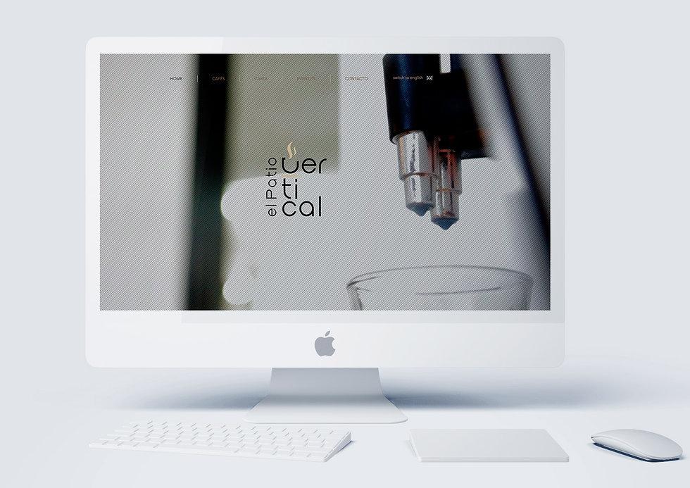 sofisticado Diseño Grafico Freelance de website para cafe bar