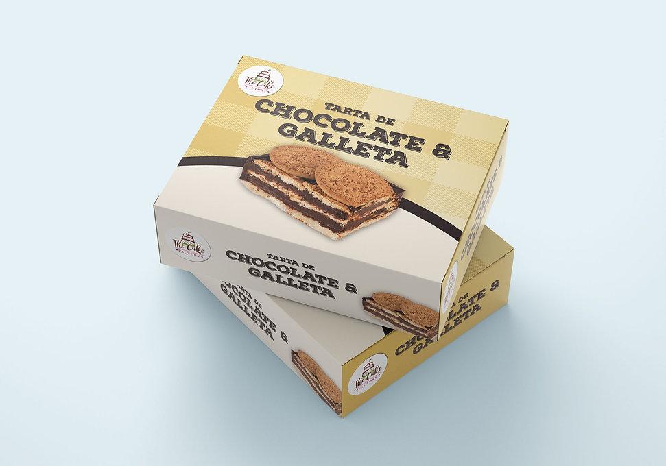 clasico diseno grafico de packaging de producto de alimentacion