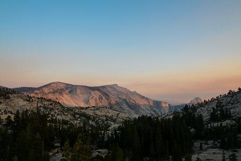 'Yosemite Sunset' Photo Print