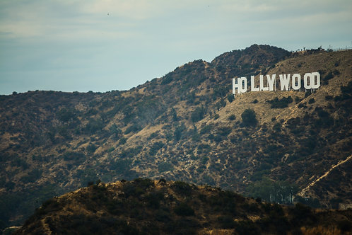 'Hollywood Sign' Photo Print