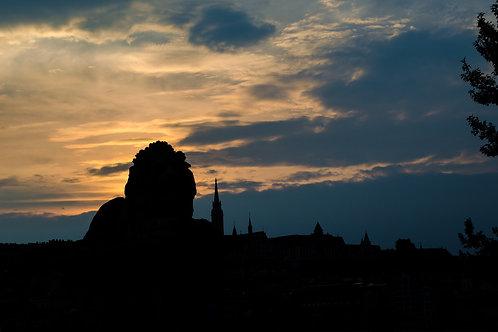 'Budapest Silouhette' Photo Print