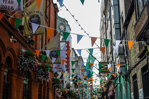 'Irish Tricolour' Photo Print