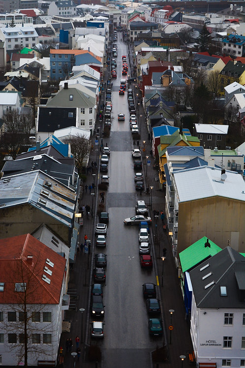 'Colours of Reykjavik' Photo Print