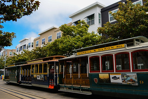 'Cable Car' Photo Print