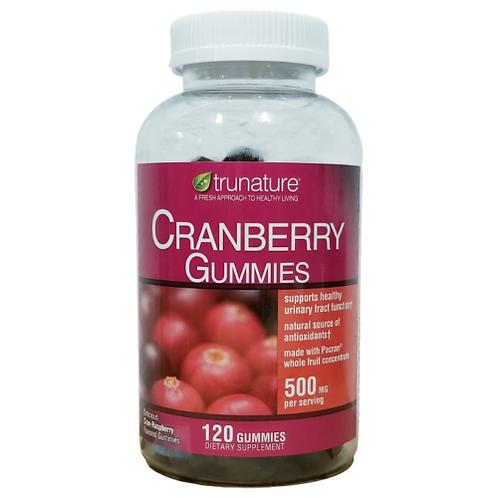 TRUNATURE Cranberry Gummies 120 Count