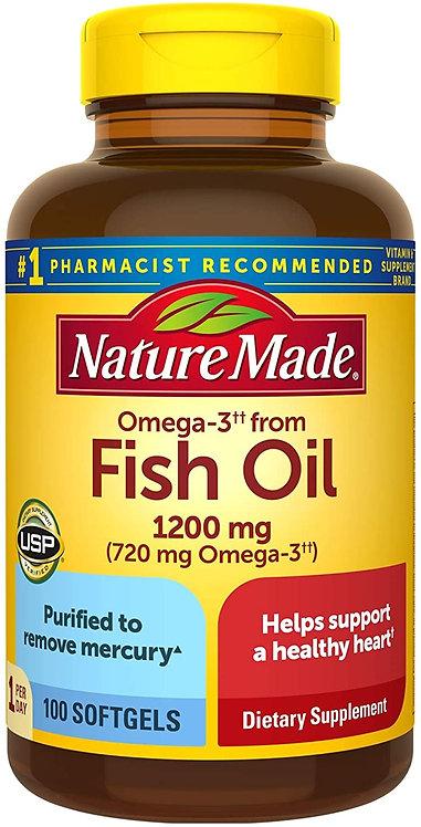 Nature Made Fish Oil Gummies 200 Soft gels
