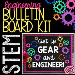 STEM Gear Bulletin Board